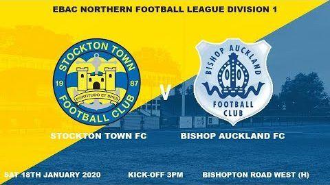 Stockton Town v Bishop Auckland- 19/20