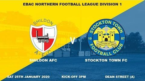 Shildon v Stockton Town- 19/20