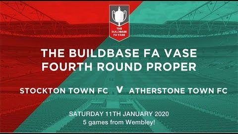 FA Vase: Stockton Town v Atherstone Town- 19/20