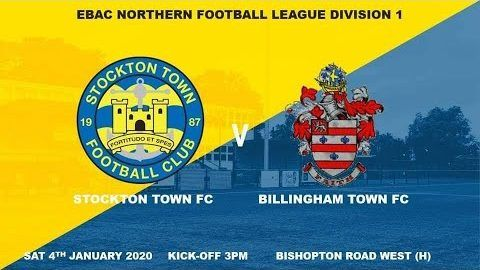 Stockton Town v Billingham Town- 19/20