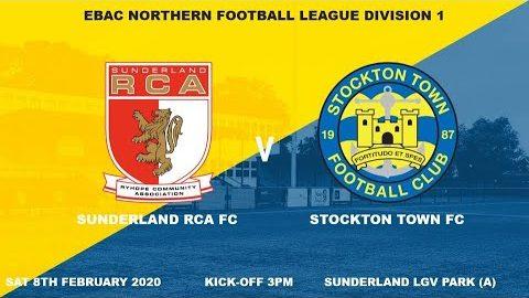 Sunderland RCA v Stockton Town- 19/20