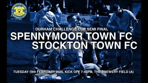 DCC: Spennymoor Town v Stockton Town- 19/20
