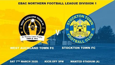 West Auckland v Stockton Town- 19/20