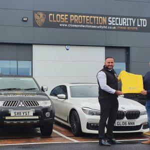 Close Protection Security Continue Sponsorship