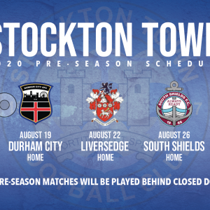 Stockton Town confirm 2020 pre-season schedule