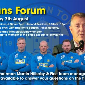 Club to Host Supporters Evening