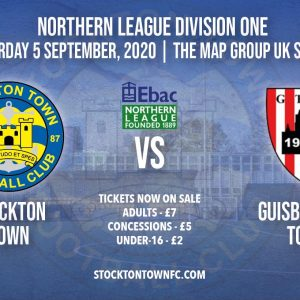 Ticket Collection: Stockton Town vs Guisborough Town
