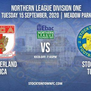 Supporter Information: Sunderland RCA vs Stockton Town