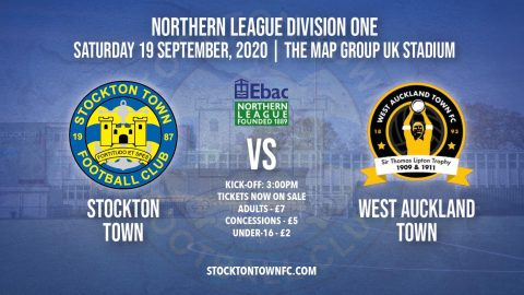 Ticket Information: Stockton Town vs West Auckland