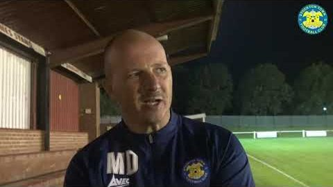 INTERVIEW | We know we weren't good enough tonight, says Michael Dunwell