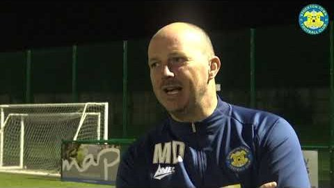 INTERVIEW | Manager Michael Dunwell praises second half performance against Whitley Bay