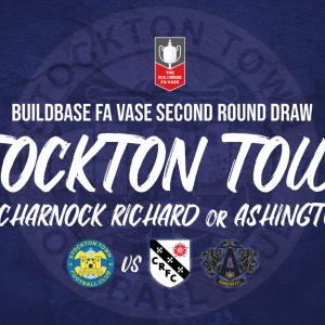 Anchors drawn at home against Charnock Richard or Ashington in FA Vase