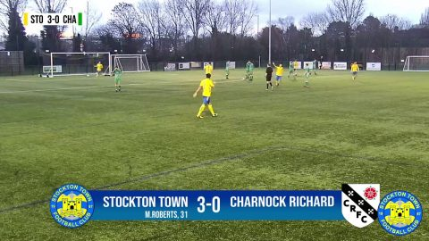 HIGHLIGHTS | Stockton Town 4-2 Charnock Richard