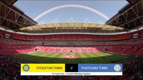 2018 FA Vase Final – Stockton Town v Thatcham Town