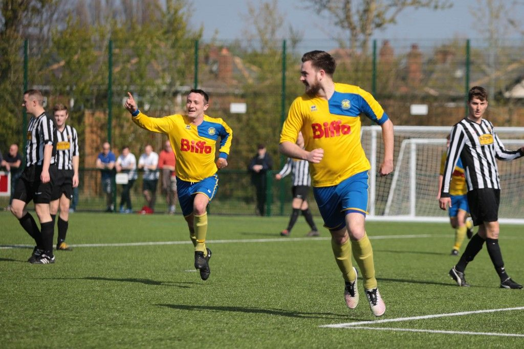 Max Craggs opened the scoring at Team Northumbria.