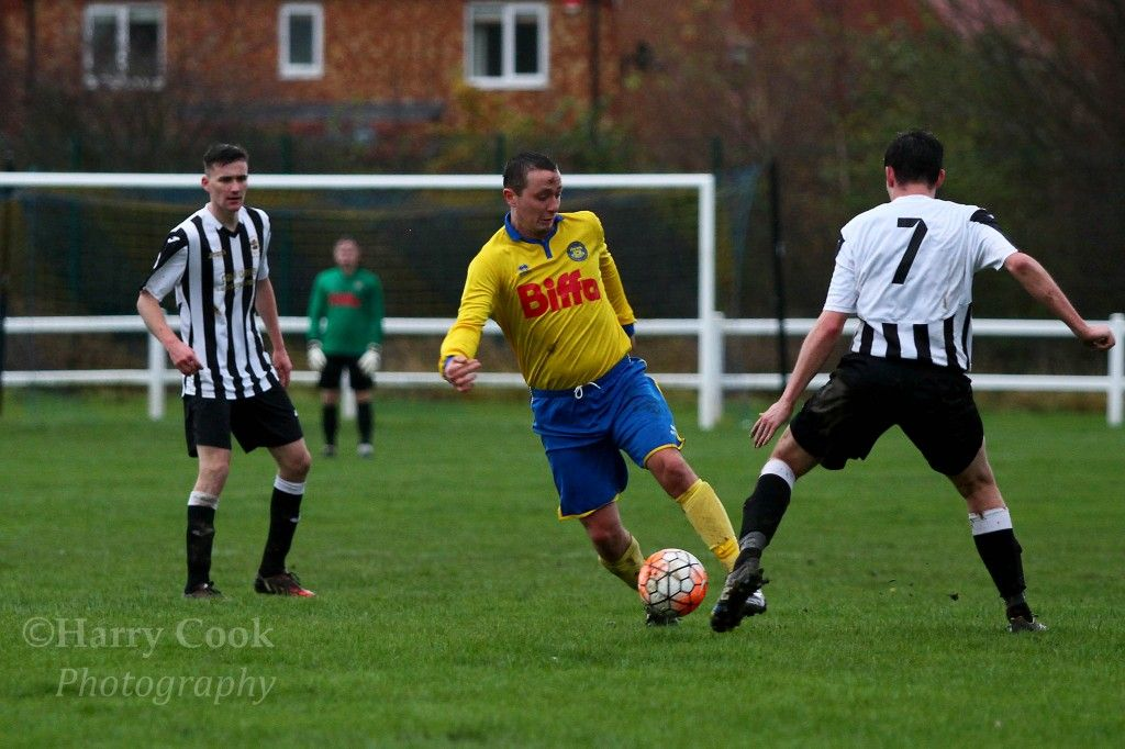 Jimmy Ward in our recent Cup Semi Final victory over Boldon CA.