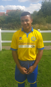 Marcellus Kerr scored his 1st goal for the Club in this victory.