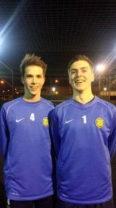 Ryan Kirby (Left) and Sam Naylor (Right) have both been selected to represent England.
