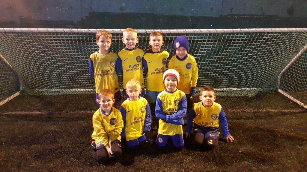 Our current U6's that will help form our U7's TJFA teams next season.